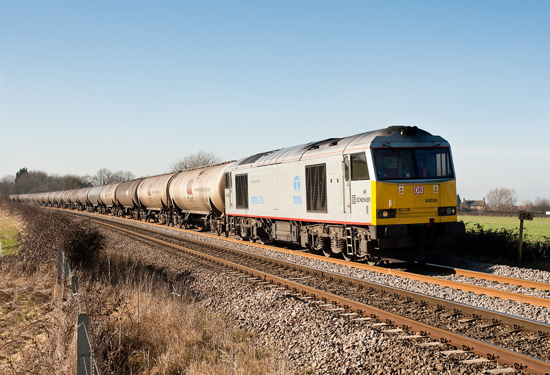 running over an hour late 60099 pass Gossington on the