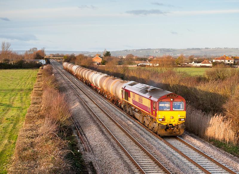 66066 6V62 TO  09:30 Fawley-Tavistock Junction