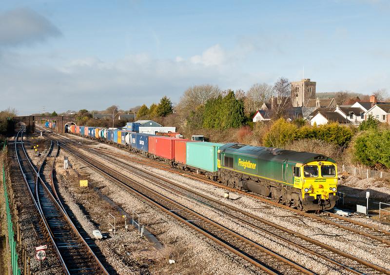 66541 4O51 09:58 Wentloog(Cardiff)-Southampton