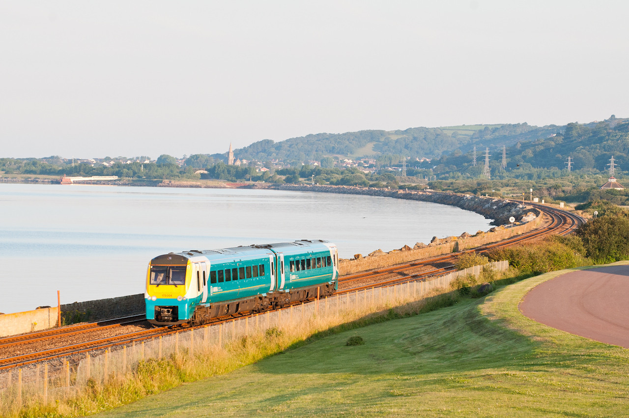 140711 175004 at Pwll with the 0550 Camarthen-Manchester