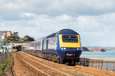 150512   Chasing the tanks to Dawlish...Units/HST's came in the sun but not the main event.