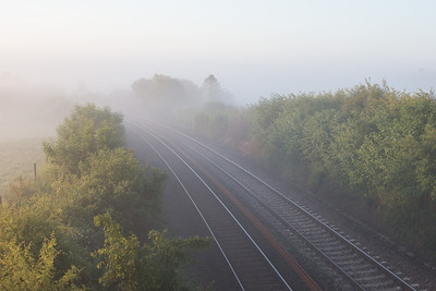 060713  With 15 minutes before the sleeper at Moorswater would the fog clear????