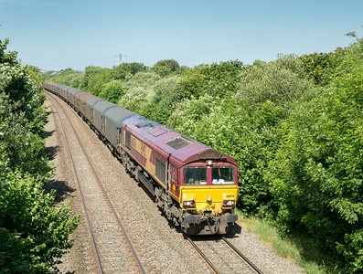 010714  66076  heads up Stormy bank with the 6O32  FX-Q 10:00 Margam-Dollands Moor