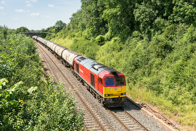 020714  66001 is about to enter Wickwar tunnel with the 6E41       11:41 Westerleigh-Lindsey