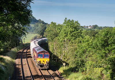 130614  66176 heads upgrade out of Par past Stoneybridge with 6G06   07:40 Goonbarrow-Fowey .