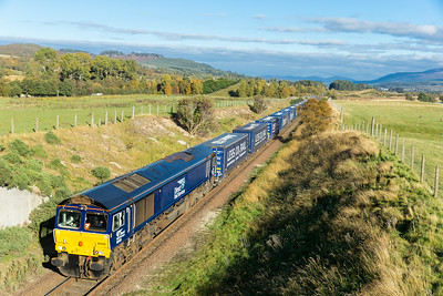 171015   66426 again,  approaching  Kingussie at speed