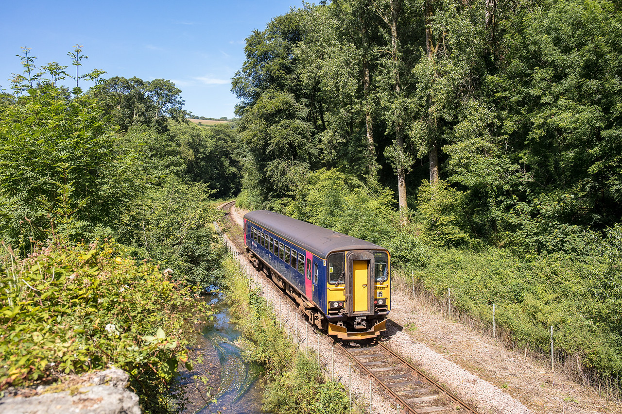 020717  153329  passes Tregarland  on the Looe branch