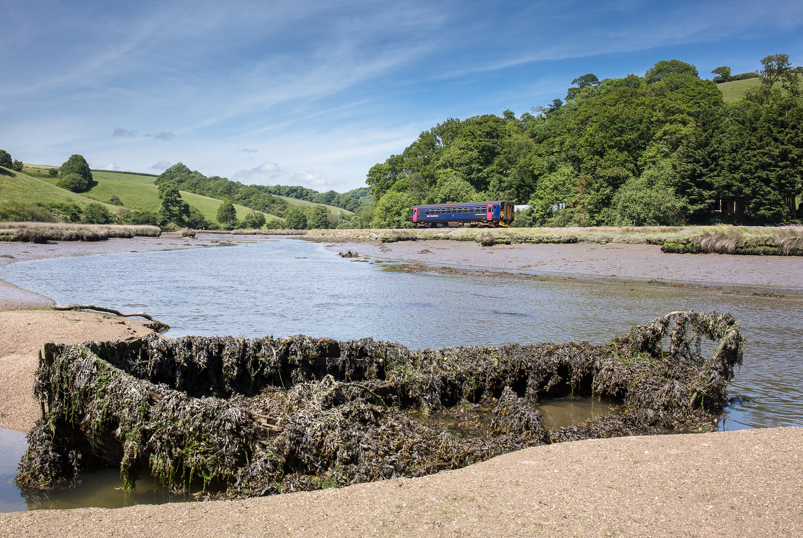 010617  153369  approaches  Terras crossing with a service to Looe.