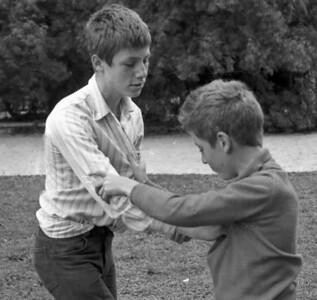 St Pierre - François et MIchel - Aout 1970