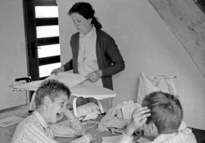 Irreville - Aout 1970 - François, Jean-Pierre et Christiane