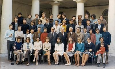 Lycée Condorcet, Maths Spé 1971-1972