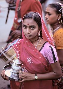 Religious procesion - Madurai, India, 1973