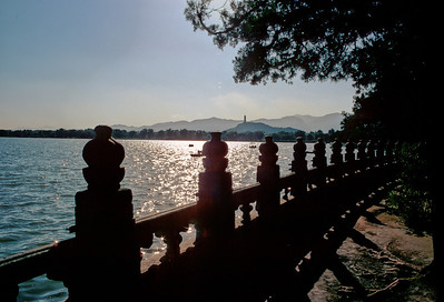 Summer palace lake