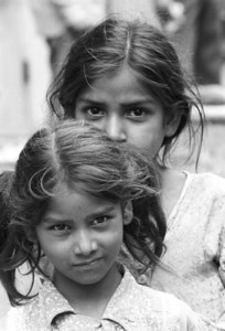 Sisters - Dehli, India 1974
