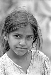 Girl in Delhi - India, 1974