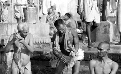 On the ghats, Varanasi