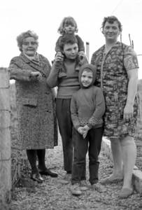 Famille de mineurs Conde sur Escaut Stage Janvier 1974