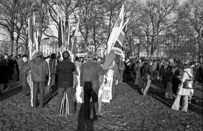 Hyde Park corner London, 1974
