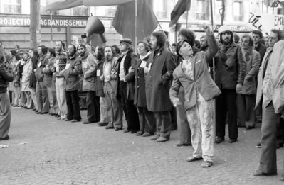 Demonstration - Paris in the 70's