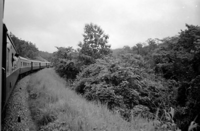 Train to Chiang Mai - Thailand 1974
