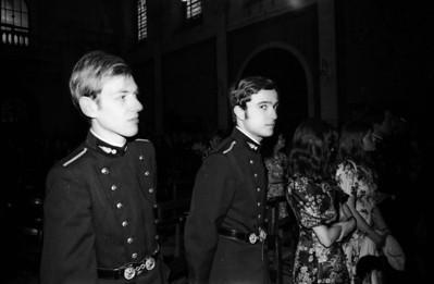 Jacques et Jean Charles - Mariage Jean Casier X, 1974