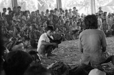 Coq fights - Bali , Indonesia 1979