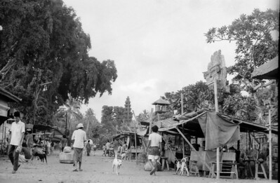 The streets of Ubud (this changed so much !) - Bali , Indonesia 1979