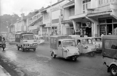 The streets of Bogor - Indonesia 1979