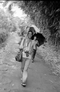 My friend Dominique - Indonesia 1979