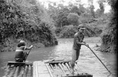 On the reservoir of East Java - Indonesia 1979