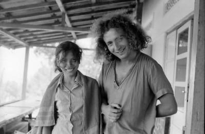 Batur lake inn - Bali , Indonesia 1979