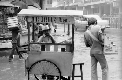 Air Jeruk (Orange juice) -The streets of Bogor - Indonesia 1979