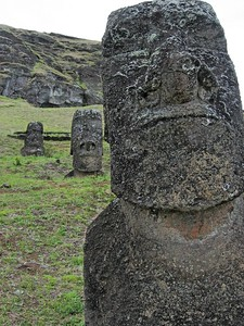Moai quarry