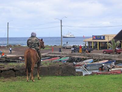 Rapa Nui harbor