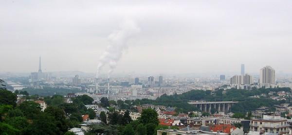 Paris as seen from Meudon