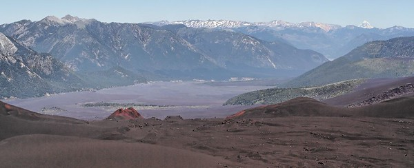 View from the Volcano Llaima