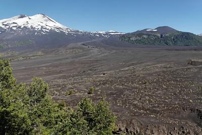 Chile, Volcano Llaima