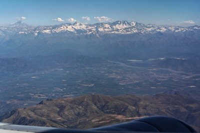 The Andes near Santiago