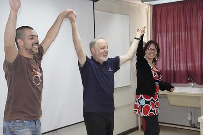 Rodrigo, Kurt and Silvana
