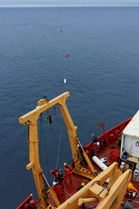 Launching sediment traps