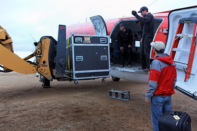 Loading the flow cytomter to the DC3