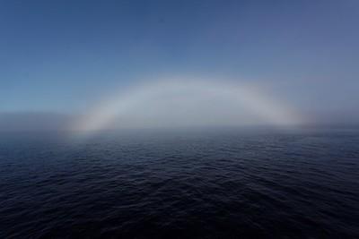 A strange rainbow