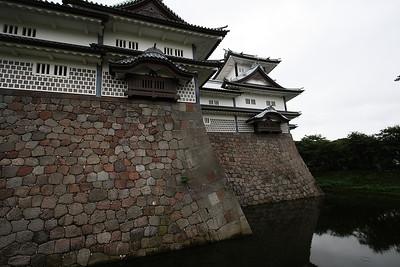 Kanazawa castle ((金沢城 Kanazawa-jō) - July 2010