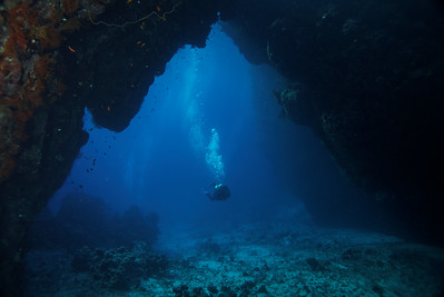 Reef cave - St John's reef, Egypt