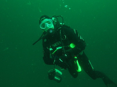 Diving in the Bay of Brest 2011