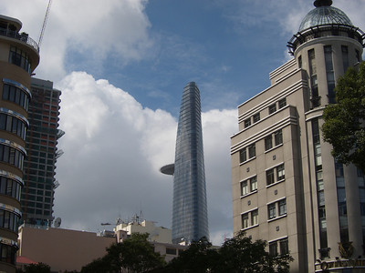 Bitexco Financial Tower, shaped as a lotus