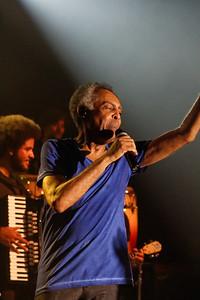 Gilberto Gil avec Nicolas Krassik - Segré Juil 2013