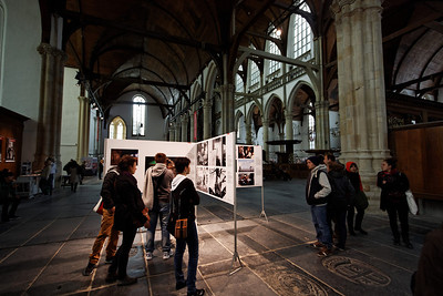 Word Press exhibition at Oude Kerk - Amsterdam mai 2013