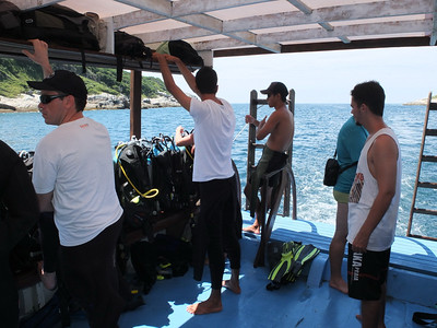 Diving trip - Fabrice, Alexsandro