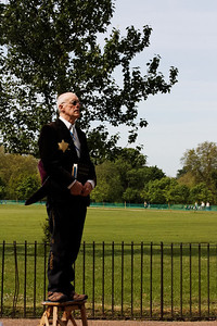 The preacher that never preached - Hydr Park Corner - London - May 2013